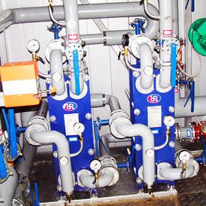 Теплообменник для горячей воды от отопления